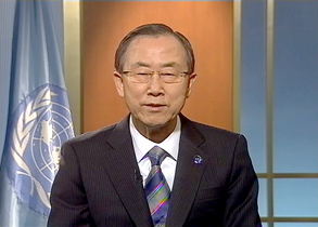 UN Secretary-Generals Message for 1000 days to the deadline of the Millennium Development Goals