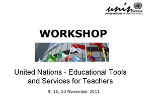Workshop UN - Educational Tools and Services for Teachers