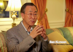 A day in the life of the Secretary-General Ban Ki-moon