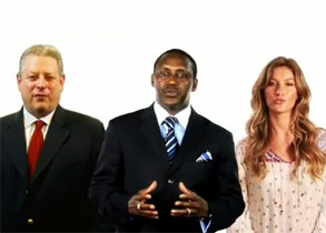 Al Gore,Yumkella and Gisele Bundchen give Sustainable Energy for All initiative a major boost