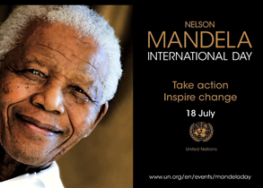 Give 67 minutes of your time for 67 years of Nelson Mandela - Nelson MAndela International Day 18 July 2013