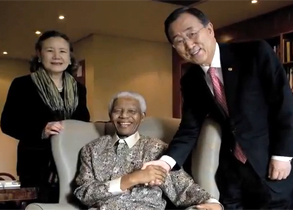 Mandela at the UN General Assembly