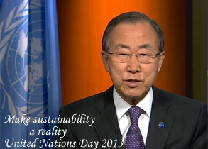 Secretary-General's Message on UN Day 2013.