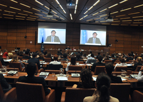 UN Secretary - General's Envoy on Youth Ahmad Alhendawi's Message for Model UN - Vienna