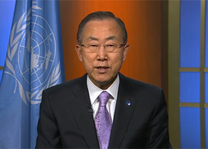 UN Secretary-General message on International Day of Peace 2013