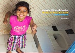 World Toilet Day, message from the UN Deputy Secretary-General