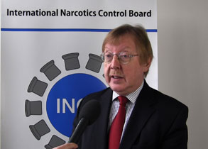 INCB President on Afghanistan's drug problem