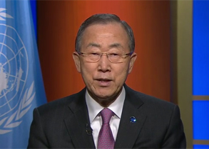 Video message by UN Secretary-General on the launch of the International Year of Crystallography 2014.