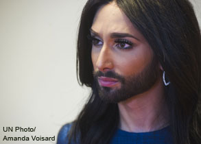 Conchita Wurst on what the rule of law means to her #myruleoflaw