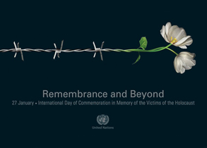 Secretary-General Ban Ki-moon and his message for the Holocaust remembrance day 2016