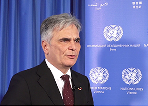 Interview with Werner Faymann, United Nations Special Envoy on Youth Employment