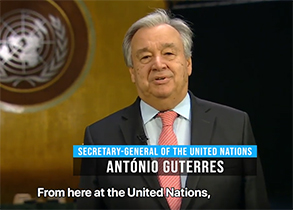 The Secretary-General: New Year's Message