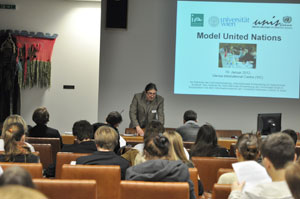 Model United Nations: Students practise Diplomacy at the Vienna International Centre