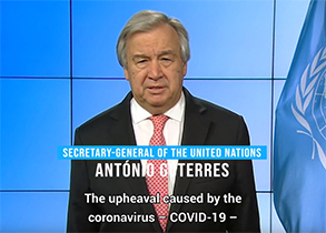 Declare War on this Virus - U.N. Chief on the Coronavirus COVID-19